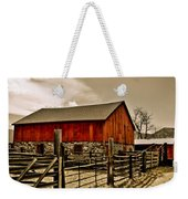 Old Country Farm Weekender Tote Bag