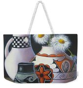 Old Court Shasta Daisy Weekender Tote Bag