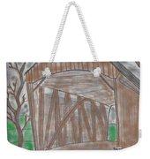 Old Covered Bridge Weekender Tote Bag
