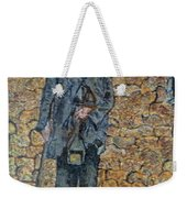 Old-crafts-the-lamplighter-italy-1800 Weekender Tote Bag