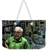 Old Craftsman Portrait Weekender Tote Bag