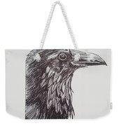 Old Crow Weekender Tote Bag