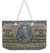 Old Currency  Weekender Tote Bag