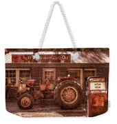 Old Days Vintage Weekender Tote Bag