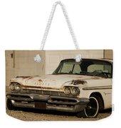Old Desoto In Sepia Weekender Tote Bag
