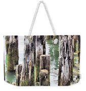 Old Dock Remains Weekender Tote Bag