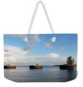 Old Docks Of Gasparilla Weekender Tote Bag