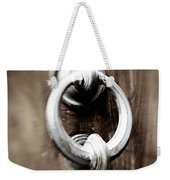 old Door Knocker Weekender Tote Bag
