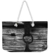Old Door Latch Weekender Tote Bag