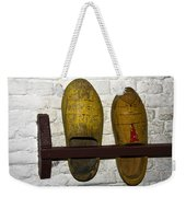 Old Dutch Wooden Shoes Weekender Tote Bag