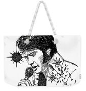 Old Elvis Weekender Tote Bag