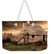 Old English Barn Weekender Tote Bag by Lourry Legarde
