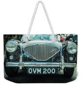 Old English Weekender Tote Bag by Nick Bywater