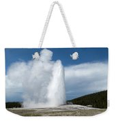 Old Faithful Erupts Weekender Tote Bag