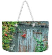 Old Farm Door Weekender Tote Bag