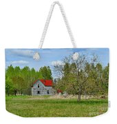 Old Farm House In Langley Weekender Tote Bag
