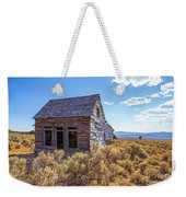 Old Farm House Widtsoe Utah Ghost Town Weekender Tote Bag