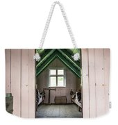 Old Farmhouse Interior Iceland Weekender Tote Bag