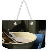 Old Fashioned Baking Tools Weekender Tote Bag