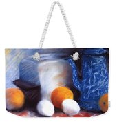 Old Fashioned Breakfast Weekender Tote Bag