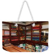Old-fashioned Fabric Shop Weekender Tote Bag
