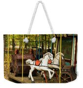 Old-fashioned Merry-go-round Weekender Tote Bag