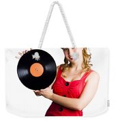 Old Fashioned Music Weekender Tote Bag