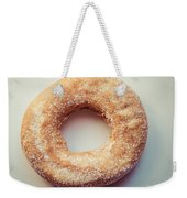 Old Fashioned Sugar Donut Weekender Tote Bag