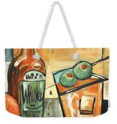 Old Fashioned Sweet With Olives Weekender Tote Bag