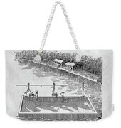 Old Ferryboat Patent Weekender Tote Bag