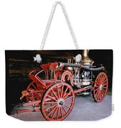 Old Fire Truck Weekender Tote Bag