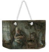 Old Fisherwoman Weekender Tote Bag