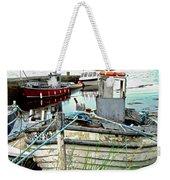 Old Fishing Boats Weekender Tote Bag