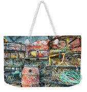 Old Fishing Gear Weekender Tote Bag