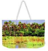 Old Florida Loop Palms Weekender Tote Bag
