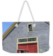 Old Ford Model A Pickup In Front Barn Weekender Tote Bag
