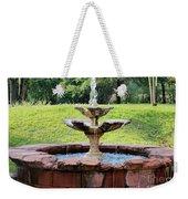 Old Fountain Weekender Tote Bag