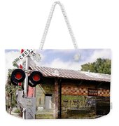 Old Freight Depot Perry Fl. Built In 1910 Weekender Tote Bag