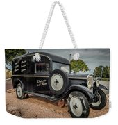 Old French Truck Weekender Tote Bag