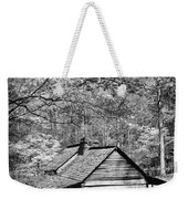 Old Frontier Cabin  Weekender Tote Bag