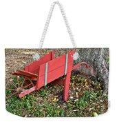 Old Garden Wheel Barrow Weekender Tote Bag