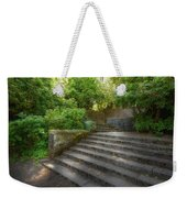 Old Garden With Stone Walls And Stair Steps Weekender Tote Bag