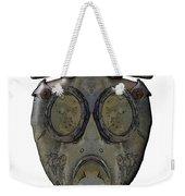Old Gas Mask Weekender Tote Bag