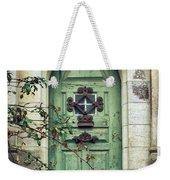 Old Gothic Door Weekender Tote Bag