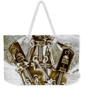 Old Hardware Upgrade Weekender Tote Bag