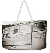 Old Hippie Peace Van Weekender Tote Bag