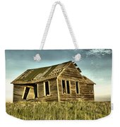 Old Home Falling In Weekender Tote Bag