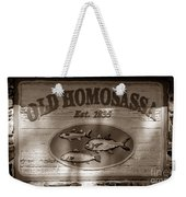 Old Homosassa Weekender Tote Bag