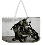 Old Honda In Hanoi Weekender Tote Bag
