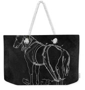 Old Horse Harness Patent  Weekender Tote Bag